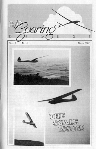 RC Soaring Digest 1987/03 - click to view RCLibrary page