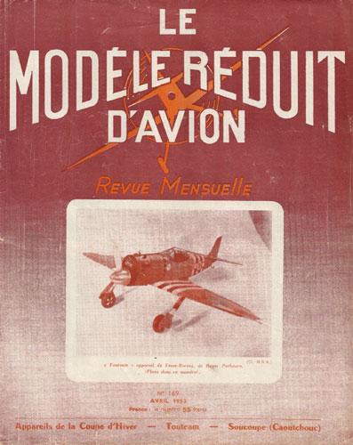 Le Modèle Réduit d'Avion 1953/04 April (RCL#2667)