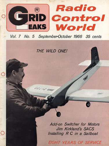 Grid Leaks - Radio Control World 1966/09 September-October - cover thumbnail