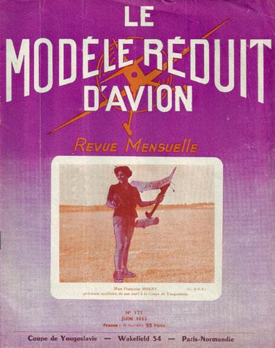 Le Modèle Réduit d'Avion 1953/06 June (RCL#2681)
