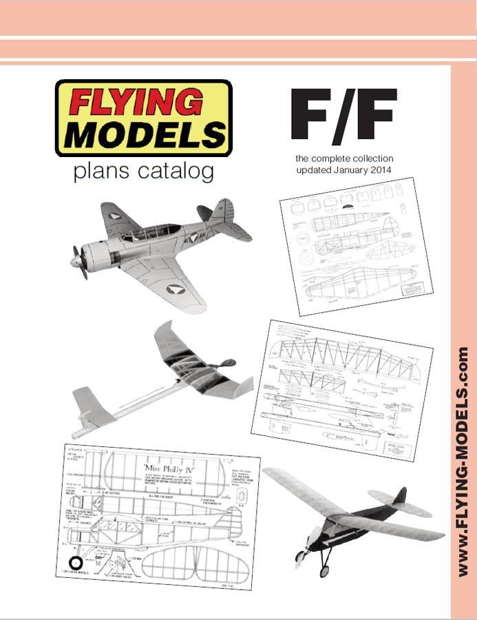 RCLibrary : Flying Models Free-Flight Plans Catalog title