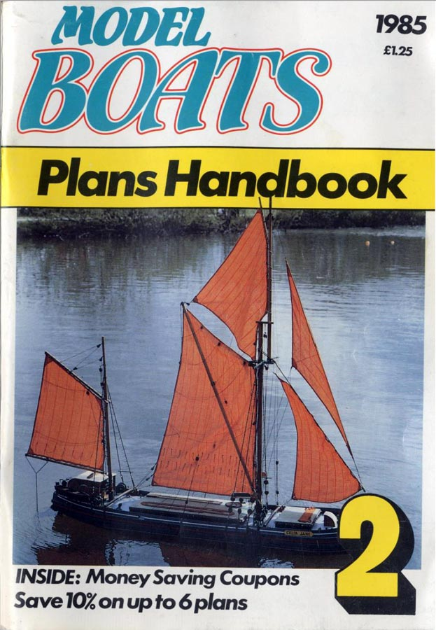 RCLibrary : Model Boats Plans Handbook 1985 title ...