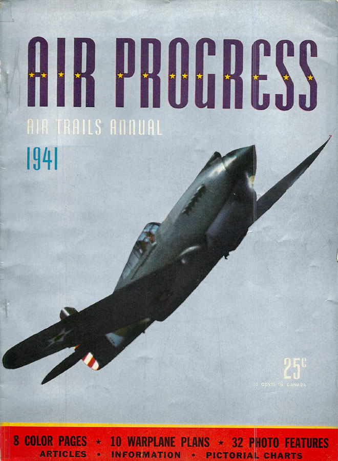RCLibrary : Air Progress, Air Trails Annual 1941 title