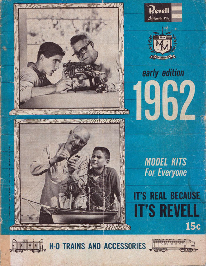 Rclibrary Revell Authentic Kits Catalogue Title