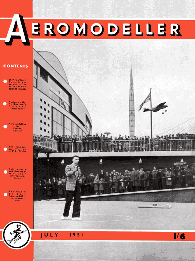 RCLibrary : AeroModeller 1951/07 July title : download free