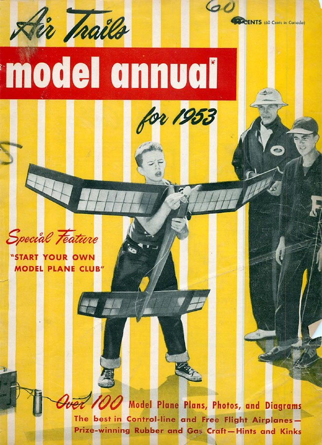 RCLibrary : Air Trails Annual 1953 title : download free vintage