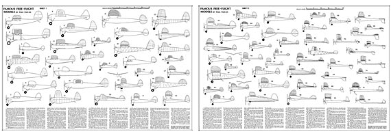 Famous Free-Flight Models - page scan thumbnails