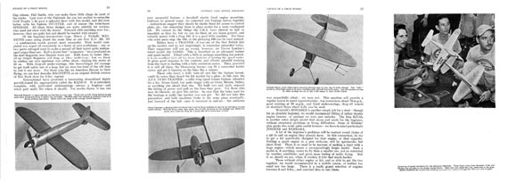 Control Line Model Aircraft - page scan thumbnails