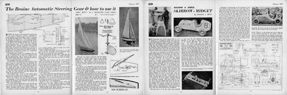 Model Maker 1951/02 February - page scan thumbnails