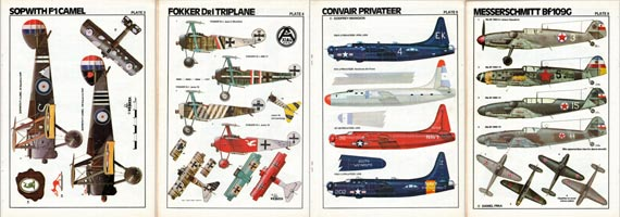 Scale Models Warplane Special - page scan thumbnails