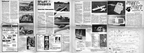 Modellers' Monthly 1974/04 April - page scan thumbnails
