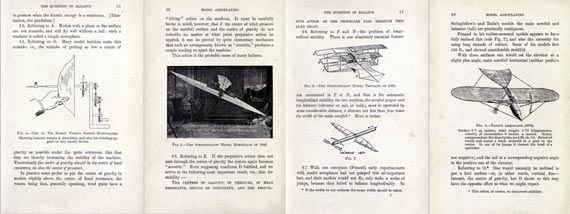 Theory and Practice of Model Aeroplaning - page scan thumbnails