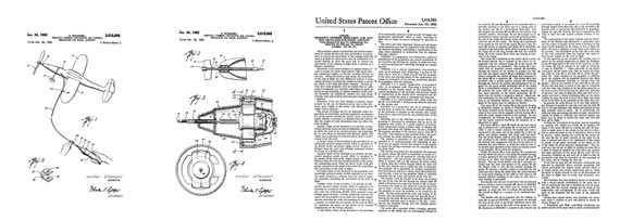 Patent: Remotely Powered Propulsion and Control [Stanzel] - page scan thumbnails