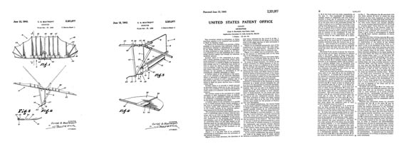 Patent: Orthopter [Bat] - page scan thumbnails
