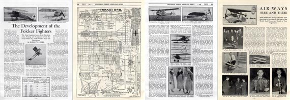 Model Airplane News 1935/03 - page scan thumbnails