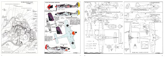 Aerodata International Fighters of World War II, Volume 1 - page scan thumbnails