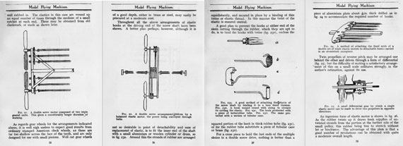Model Flying Machines: Their Design and Construction - page scan thumbnails