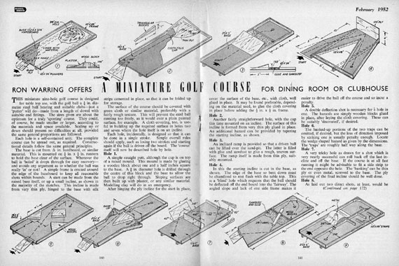 Model Maker 1952/02 February - page scan thumbnails