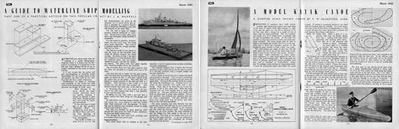 Model Maker 1952/03 March - page scan thumbnails