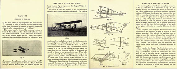 Harper's Aircraft Book - page scan thumbnails