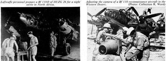 Profile Publications No. 023: Messerschmitt Bf 110 - page scan thumbnails