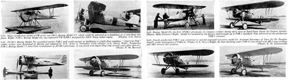 Profile Publications No. 027: Boeing F4B-4 - page scan thumbnails