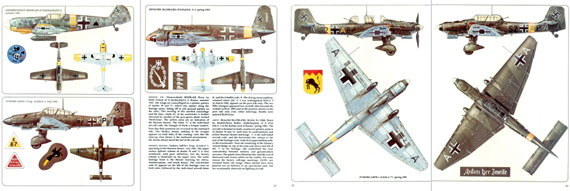 Aircam/ Airwar 004: Luftwaffe Ground Attack Units 1939-45 - page scan thumbnails