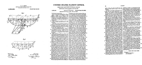Patent: Aeroplane, Flying Machine, And The Like - page scan thumbnails