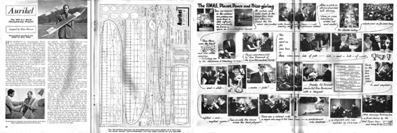 Model Aircraft 1954/02 February - page scan thumbnails