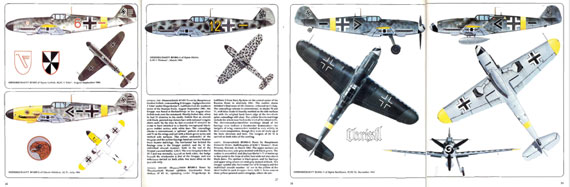 Aircam/ Airwar 011: Luftwaffe Fighter Units, Russia 1941-45 - page scan thumbnails