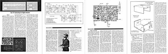 RCM Digitrio Manual - page scan thumbnails