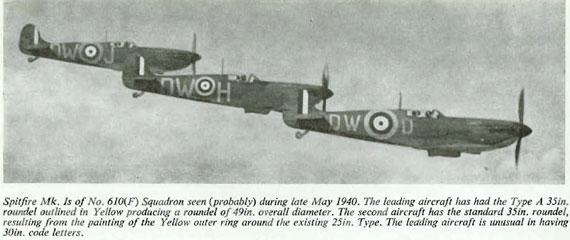 Camouflage & Markings: Supermarine Spitfire, RAF Northern Europe 1936-45 - page scan thumbnails