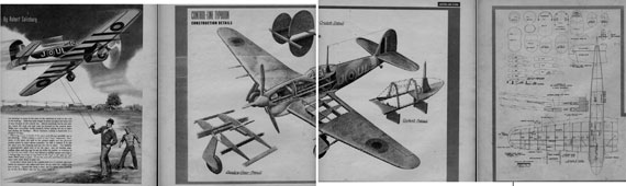 Air Trails Annual 1944 - page scan thumbnails