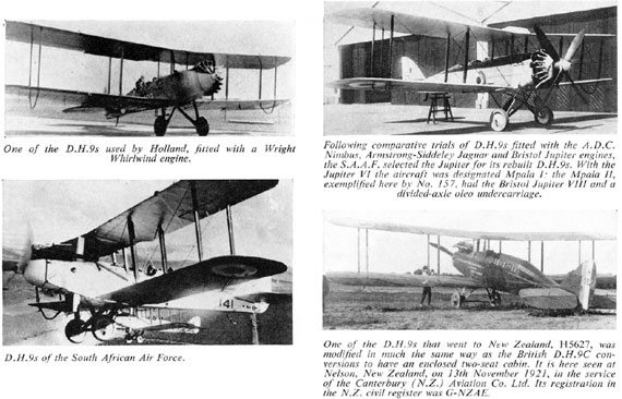 Profile Publications No. 062: de Havilland D.H.9 - page scan thumbnails