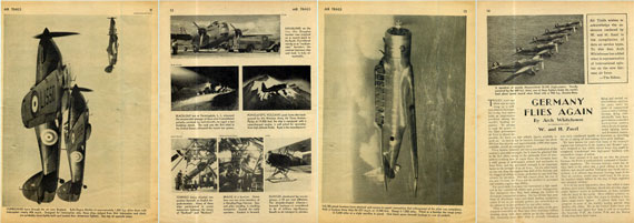 Air Trails 1938/08 August - page scan thumbnails