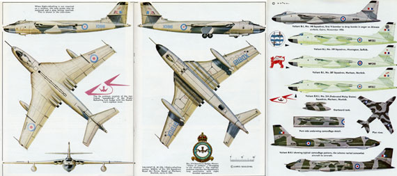 Profile 066: Vickers Valiant - page scan thumbnails