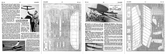 AeroModeller 1951/07 July - page scan thumbnails