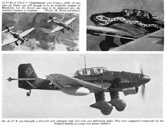 Profile Publications No. 076: Junkers Ju 87A & B - page scan thumbnails