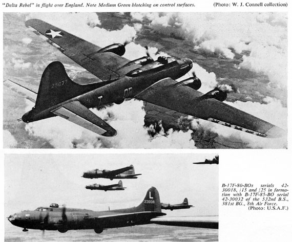 Profile Publications No. 077: Boeing B-17E & F Flying Fortress - page scan thumbnails