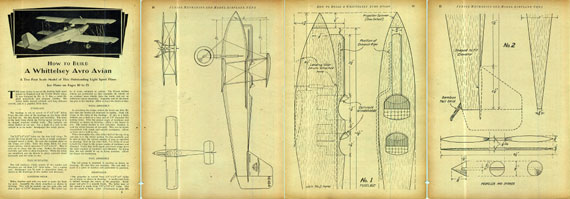 Model Airplane News 1930/07 July - page scan thumbnails