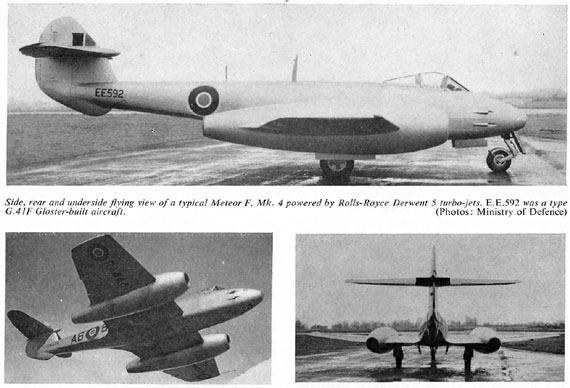 Profile Publications No. 078: Gloster Meteor F.IV - page scan thumbnails