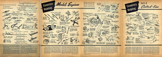 Air Trails Annual 1952 - page scan thumbnails