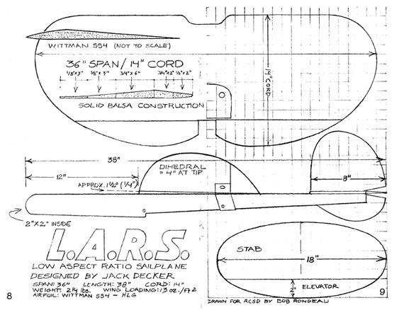 RC Soaring Digest 1985/05 May - page scan thumbnails