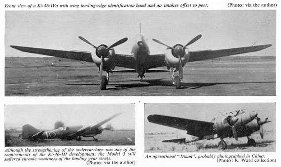 Profile Publications No. 082: Mitsubishi Ki-46 - page scan thumbnails