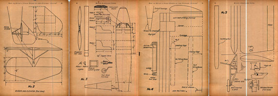 Model Airplane News 1931/01 - page scan thumbnails