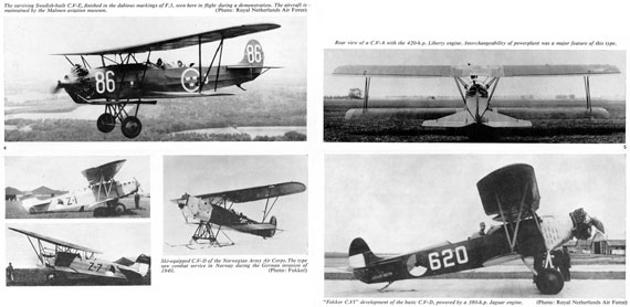 Profile Publications No. 087: Fokker C V - page scan thumbnails