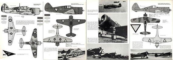 Aircam Aviation Series No. S17 (Vol. 1): 50 Fighters 1938-1945 - page scan thumbnails