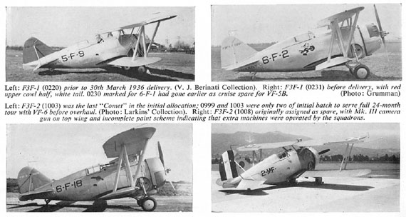 Profile Publications No. 092: Grumman F3F Series - page scan thumbnails