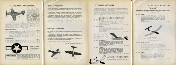 Model-Craft Katalog nr 4 - page scan thumbnails