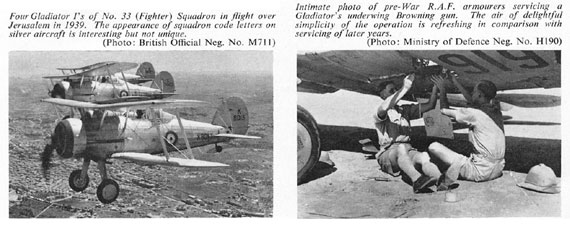 Profile Publications No. 098: Gloster Gladiator - page scan thumbnails